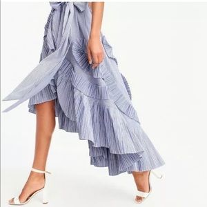 J Crew Collection Ruffle Skirt